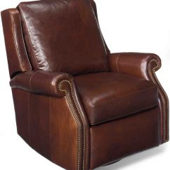 Leather Swivel Recliner Chair And Stool Anti Gravity Cord Replacement Bradington Young Barcelo Glider By 7411 Sg
