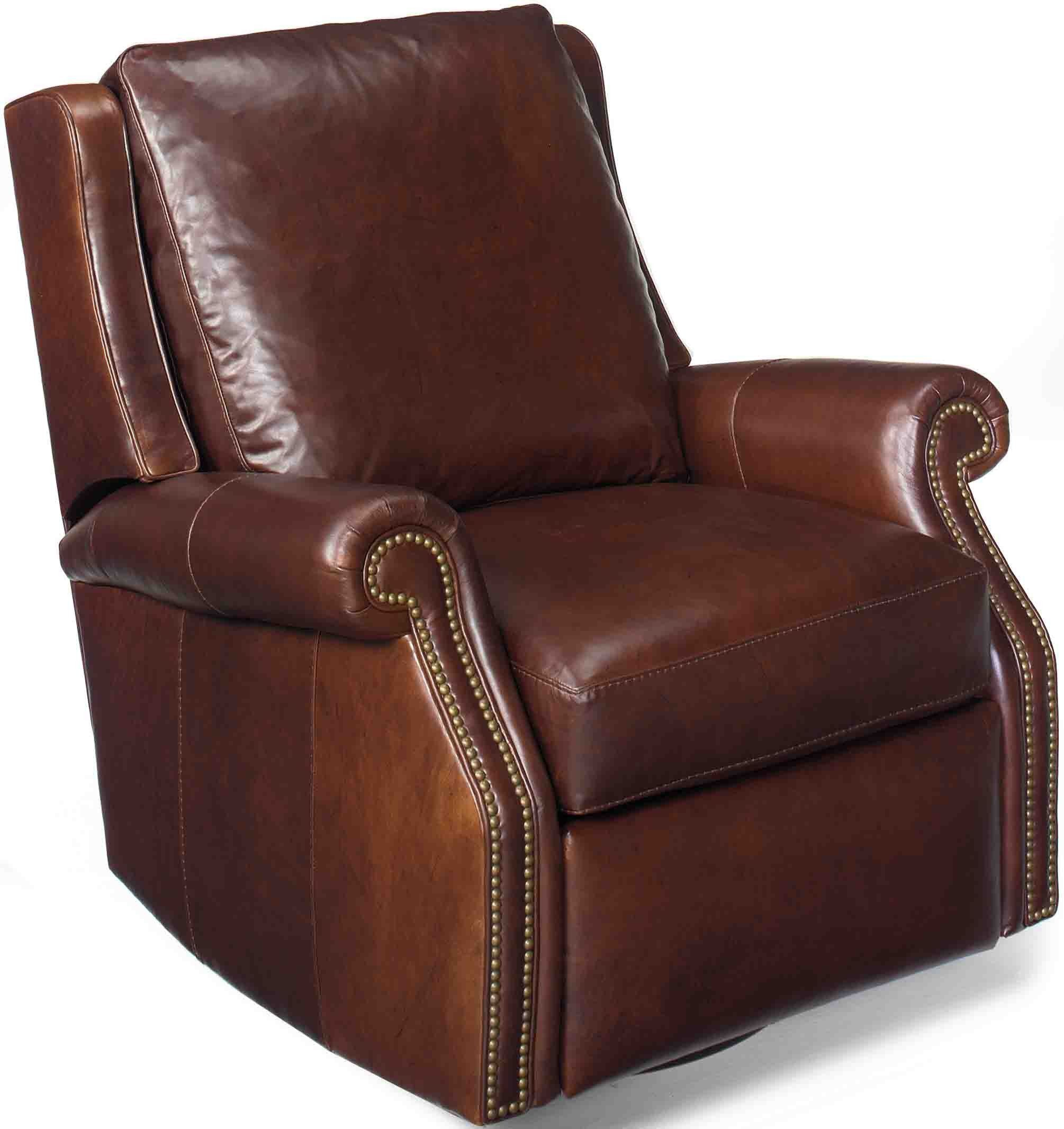 Leather Swivel Recliner Chairs Bradington Young Barcelo Swivel Glider Recliner By 7411 Sg