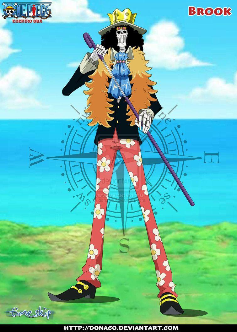Brook Timeskip By Donaco On DeviantART One Piece