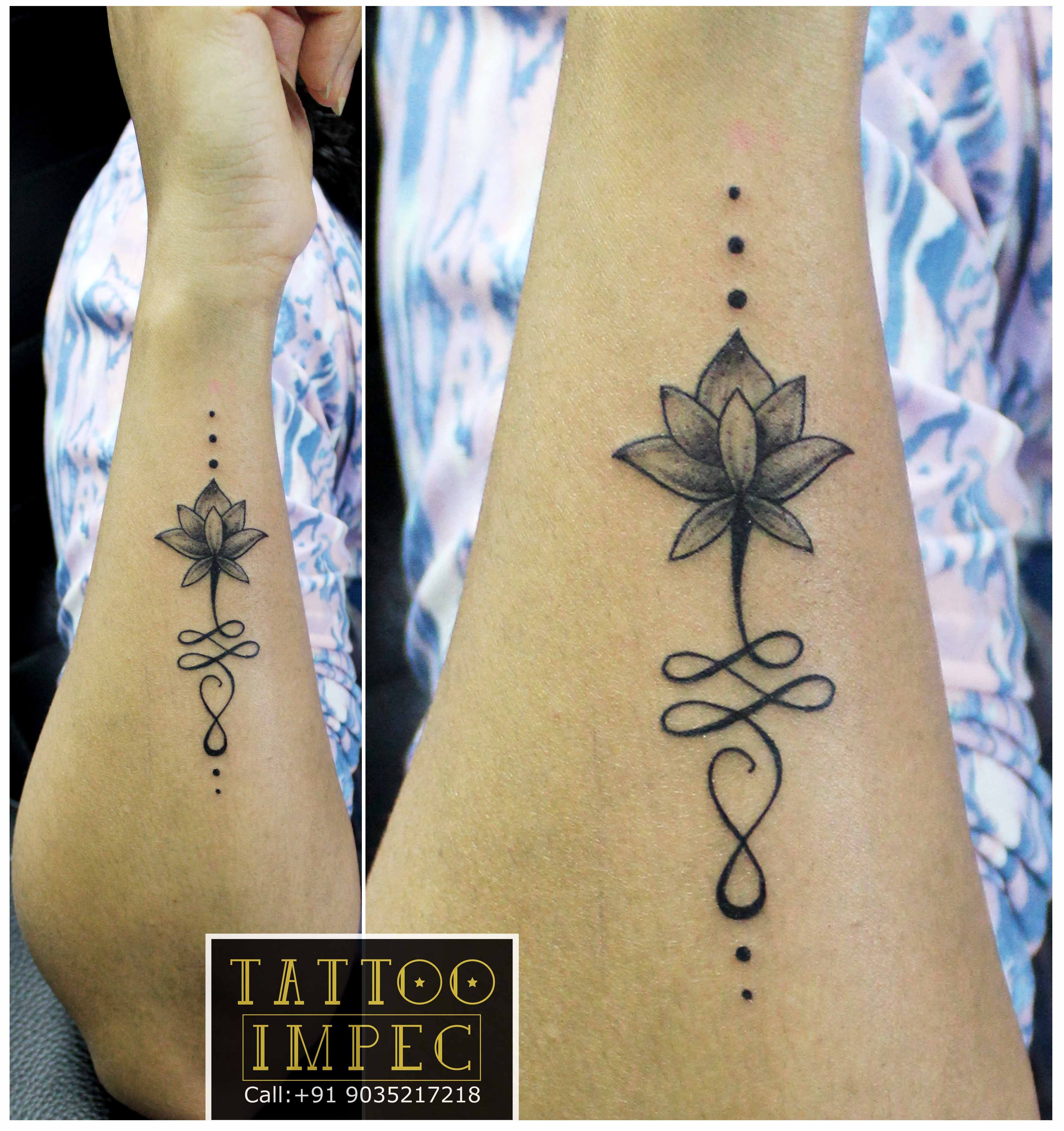 Tattoo Unalome Lotus Flower Meaning
