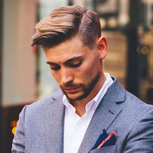 Men's Side Part Hairstyles And Parted Haircuts My Hair Except