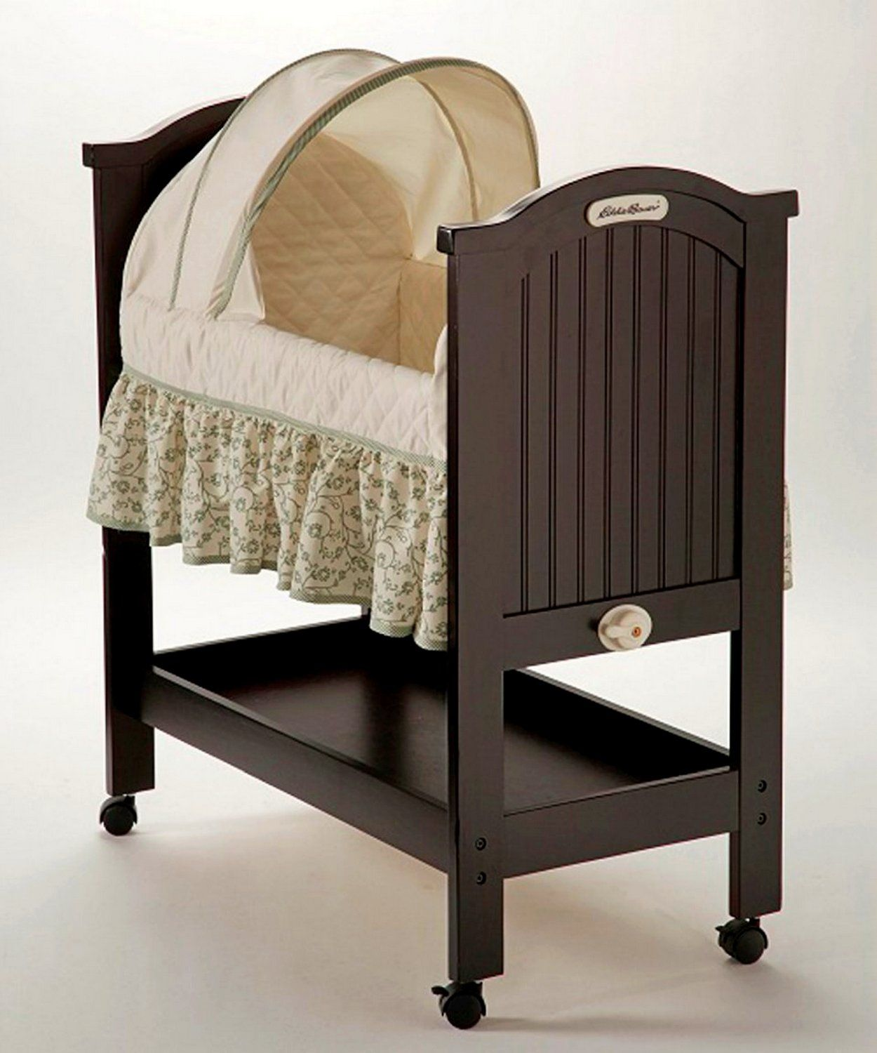Eddie Bauer Rocking Wood Bassinet  Wooden Bassinet