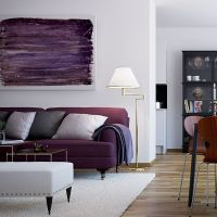 Purple-Sofa-Furniture-for-Living-Room-of-Scandinavian ...
