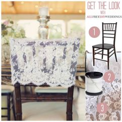 Chair Back Covers Wedding Best Guitar Stool Lace Cover Chairs And Vintage