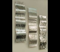 Silver Wall Art Stunning Square Root Wall Art Silver Leaf ...
