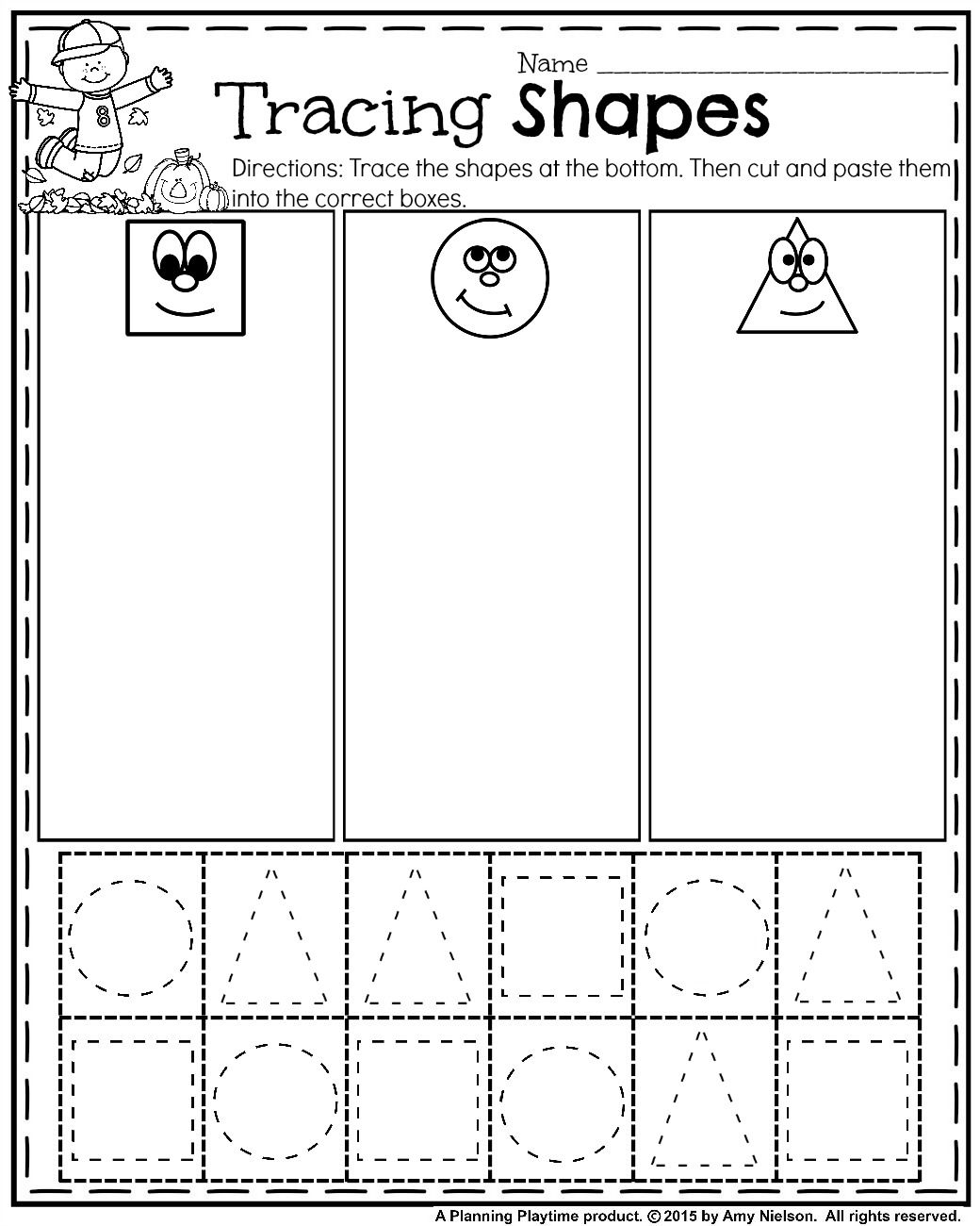 Printable Heart Worksheet Sort