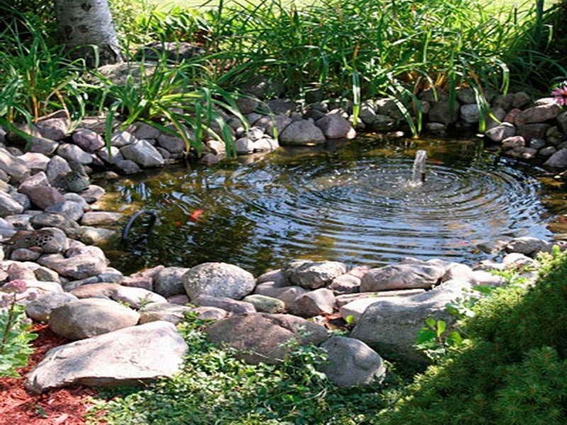 Backyard Water Feature Fountain