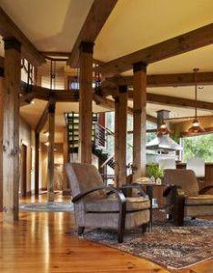 Modern shaker contemporary living room burlington cushman design group also rh pinterest