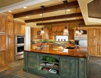 Rustic Kitchen Island Lighting Your Kitchen Design ...