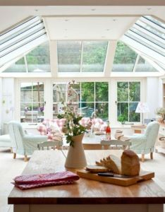 Beautiful open plan kitchen living area also pinterest rh