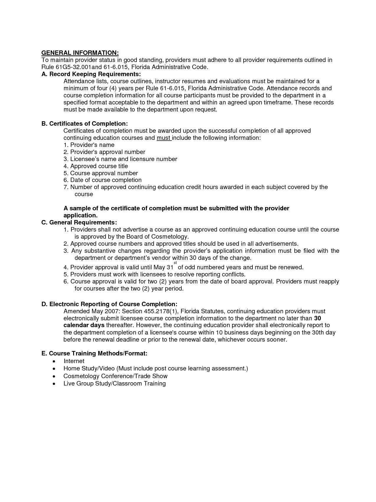 Instructor Resume Example - Examples of Resumes