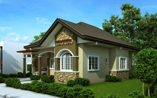 Small Bungalow House Design