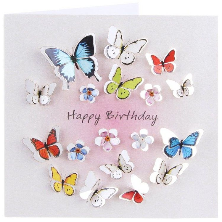 FB Happy Birthday Cards Forever Cards Square Cards 3d
