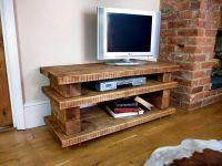 Rustic handmade wooden TV stands | Modern Rustic Home ...