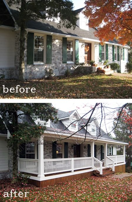 Front Porch Addition on Pinterest  Mobile Home Porch Second Story Addition and Ranch Home