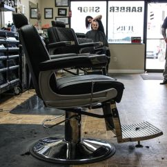 Keller Barber Chair White Outdoor Cushions Our Adams Looks So Dope At Jurs Barbershop
