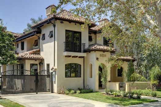 Willow Glen Spanish Style House Mediterranean Exterior San Paint Colors For Homes Ho