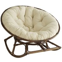 A Papasan that rocks??!! Uh, yes please!!! Rockasan Chair