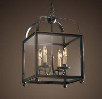 square lantern pendant for dining room | Interior Lighting ...