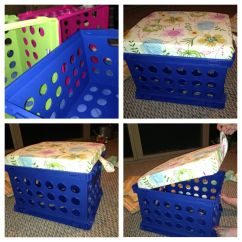 Diy Classroom Chair Covers Godrej Revolving Online Milk Crate Stools With Storage Space