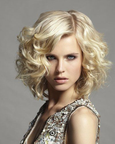 Bob Mit Locken 1690271 400×500 Pixel Frisuren Pinterest