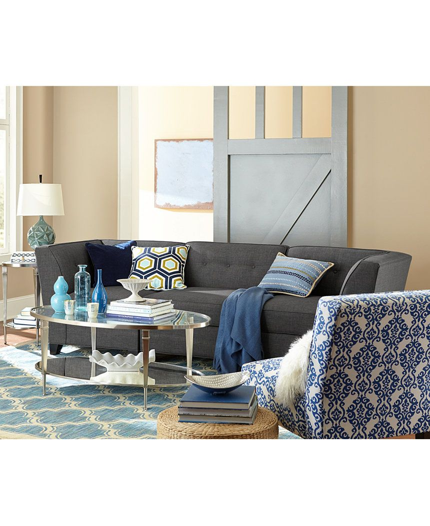 harper fabric 6 piece modular sectional sofa alans pizza chaise ottoman in custom colors created for macy s