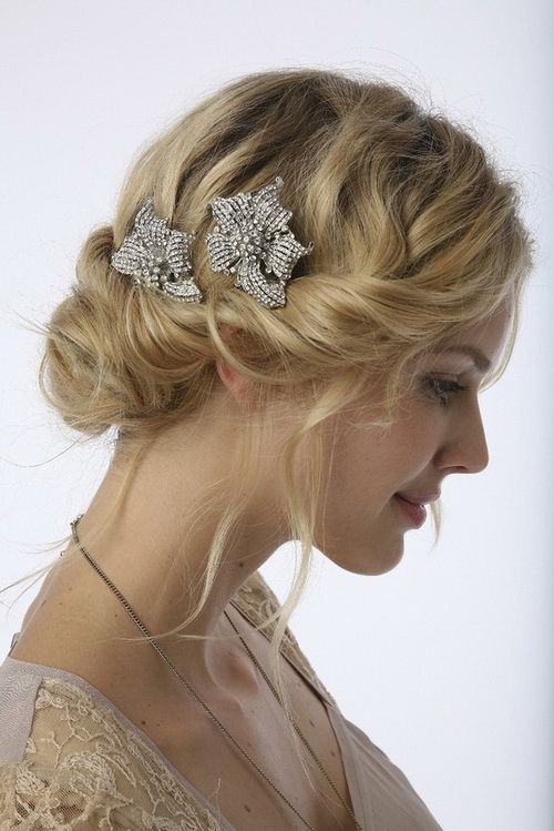 Vintage Wedding Hairstyles With Updo Vintage Wedding Hairstyles