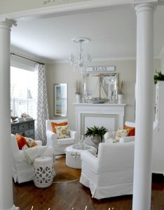 Adventures in decorating the new look our sitting room also beach rh za pinterest