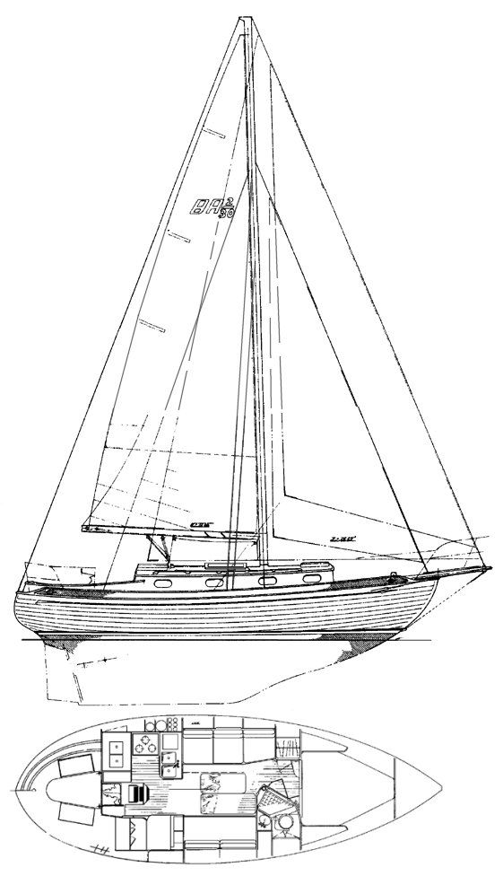 BABA 30 Hull Type: Long Keel Rig Type: Cutter LOA: 30.00