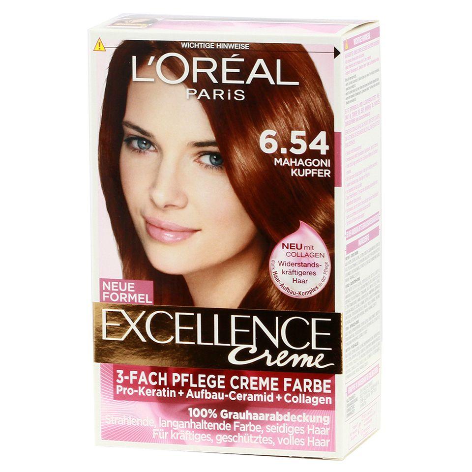 Loreal Excellence Creme Haircolor Color Chart Rachael