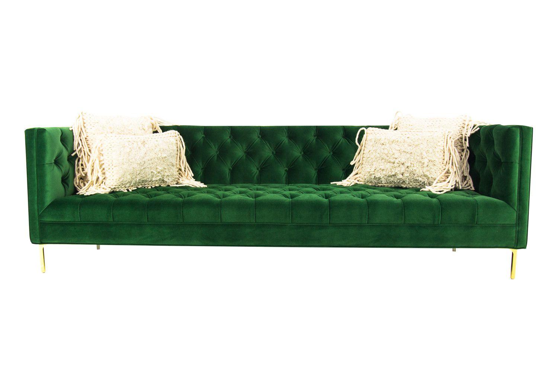 emerald green velvet sofa bed recliner in chennai avec with br legs