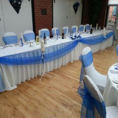 Royal Blue Chair Covers Wheel Wheels Swag And Sashes At The Carre Arms