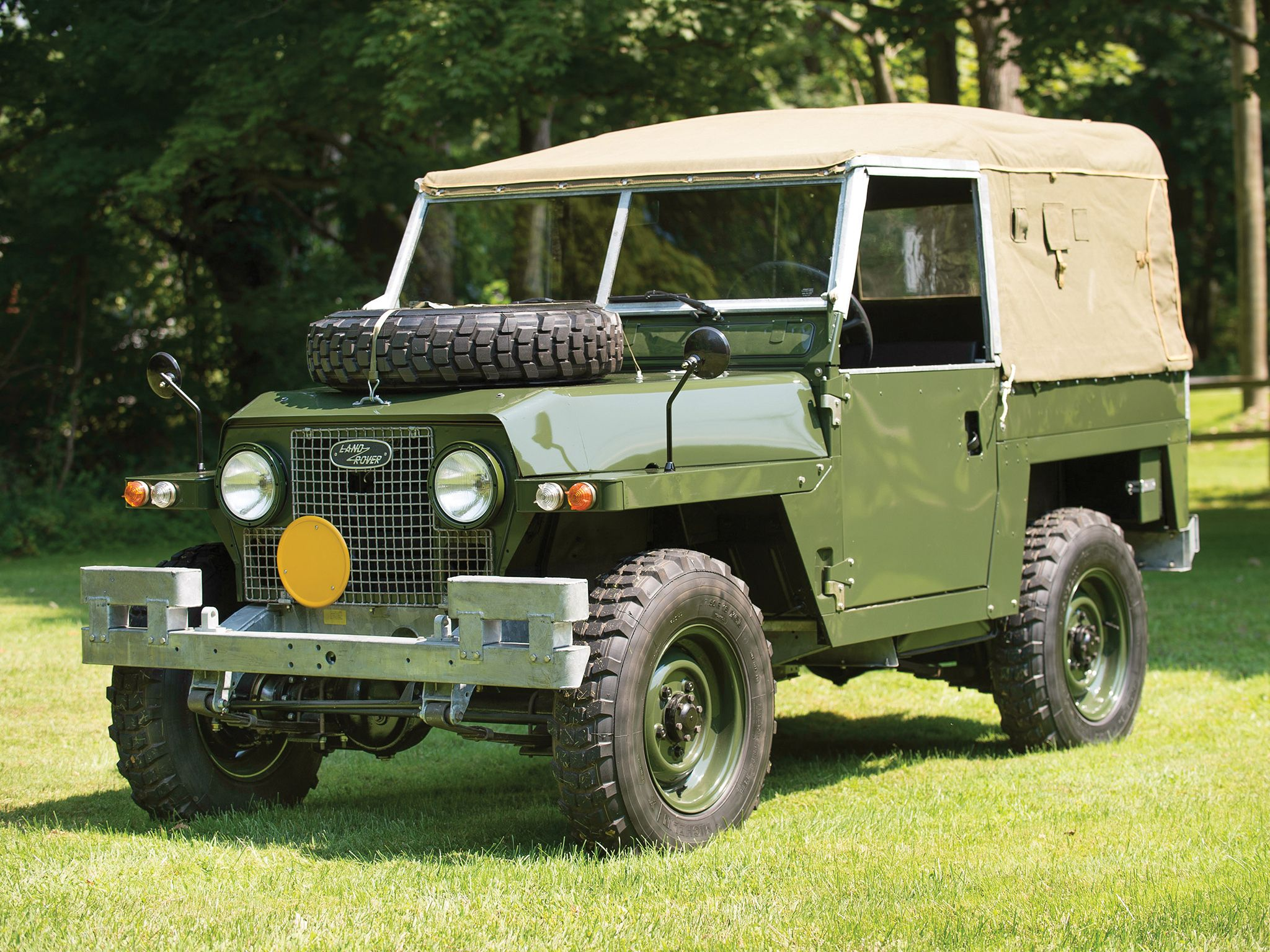 1968 Land Rover Lightweight IIA offroad 4x4 military f wallpaper