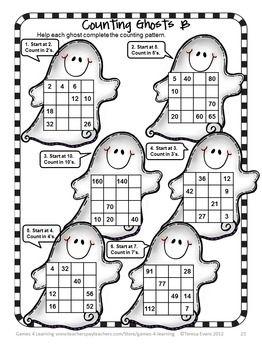 Halloween Activities: Halloween Math Games, Puzzles and