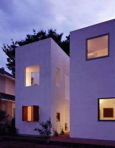Inside house  outside by takeshi hosaka architects also pixel image architecture pinterest bricks and rh