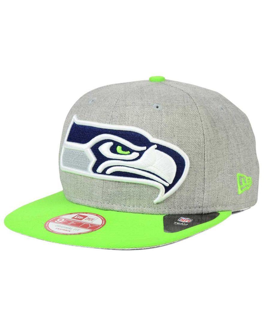 new era seattle seahawks grand fifty snapback cap