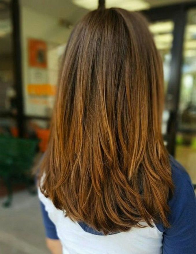 Image Result For Long Hair Layers Back View