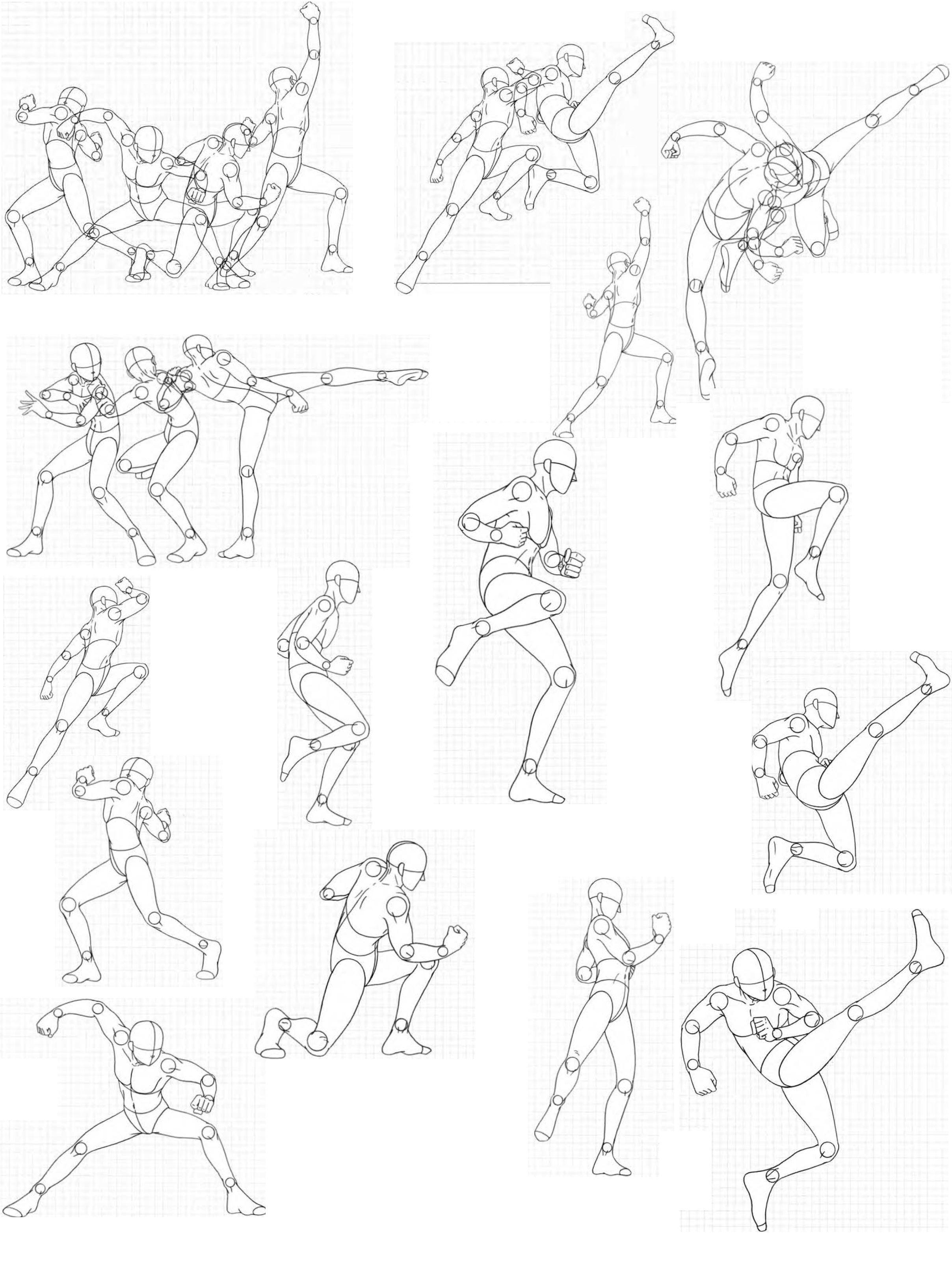 Virgin Bodies 12, by FVSJ on deviantART. >> Action pose