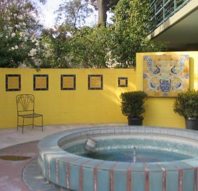Painting Cinder Block Walls Strikingly Beautiful Example Of A