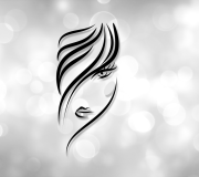 logo design hair salon #logo
