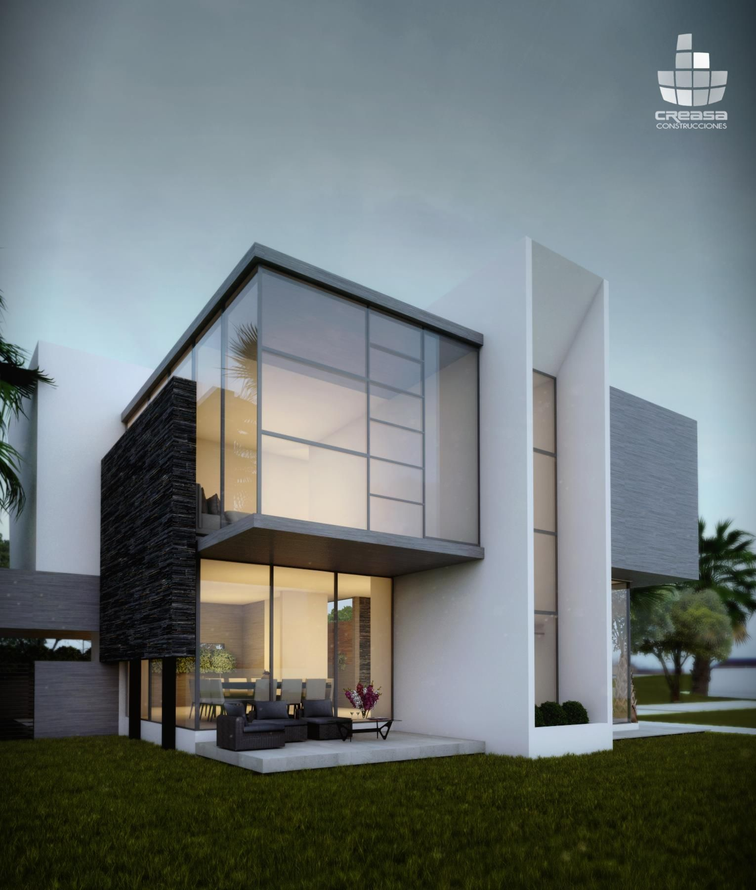 Creasa  Modern architecture  Pinterest  Villas House and Architecture