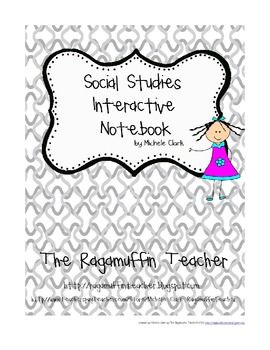 Here's a social studies interactive notebook letter and