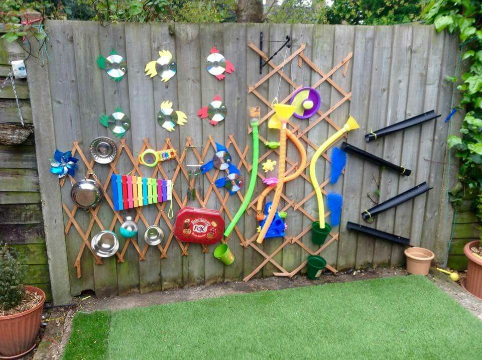 Music Water Wall Sensory Garden ASD Kid Stuff Pinterest