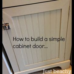 Making Kitchen Cabinet Doors Cabinets Installation Diy Tutorial How To Build Simple Shaker Style