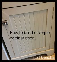 DIY Tutorial: How to Build Simple Shaker-Style Cabinet ...