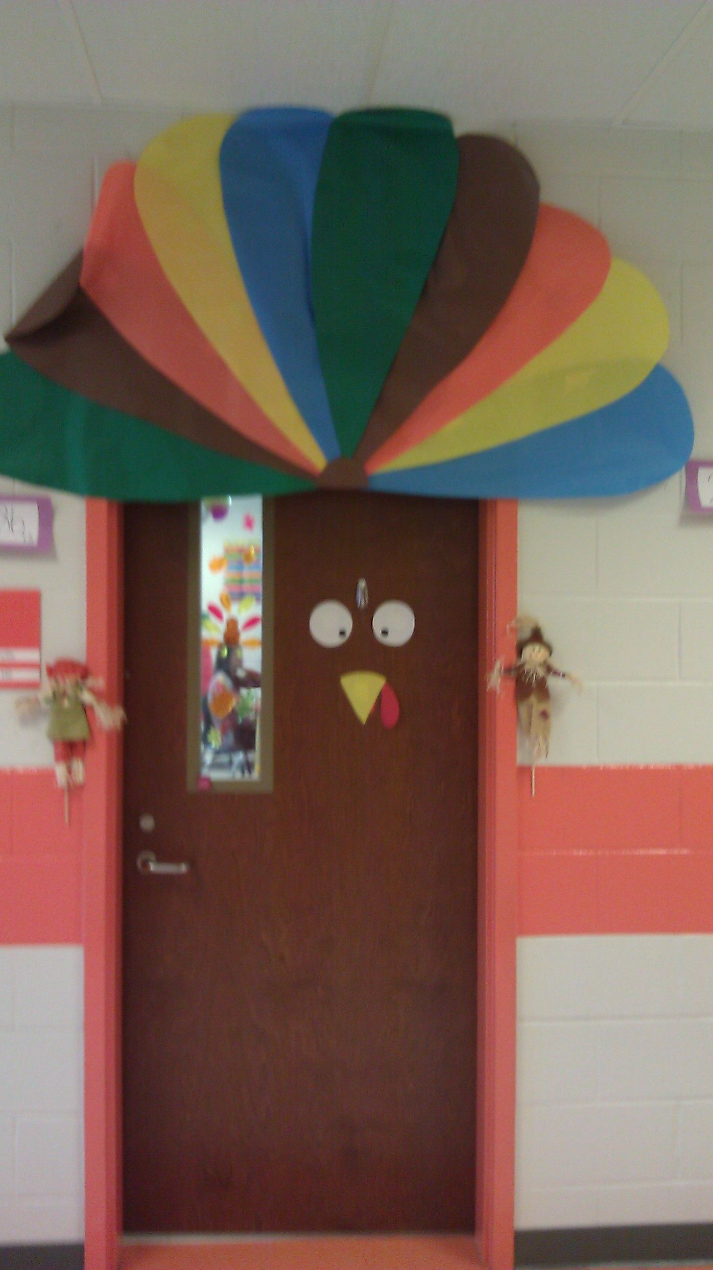 Turkey door for Thanksgiving