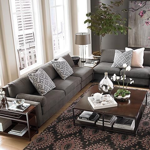 living room beige walls with gray couch  Google Search  Living Room Ideas  Pinterest  Beige