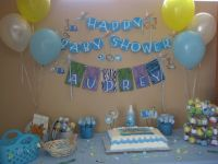 Baby Shower Decoration Ideas For Boy | Baby Shower ...