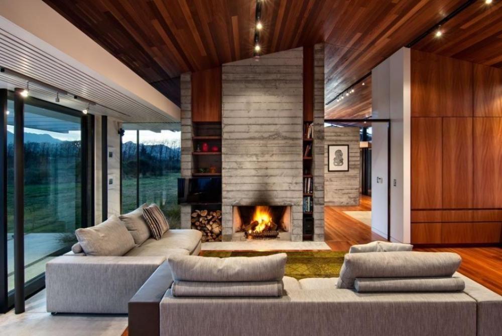 Home Design Ideas: Remarkable Room Modern Rustic Interior