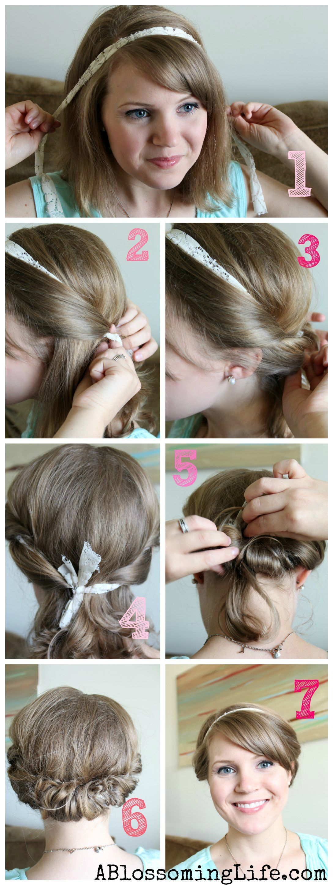 Easy Twisted Updo For Long Or Short Hair Updo Easy Updo